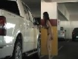 Hot Latina Girl In Bikini Bangs On A Truck To Beat Up Boyfriend