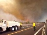 Hawaiian Tornado Caught On Video... A Fire Tornado!