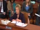 Hillary Clinton Coughs Her Way Out Of Testimony - They Allow It