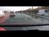 Horrible Accident On Motorway