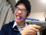 How Asians Brush Their Teeth