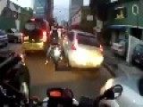 How To Ride A Motorbike During Rush Hour 1