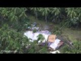 Hawaii Helicopter HD - Extensive Damage From Tropical Storm Iselle