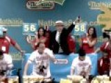 Hot Dog Eating Contest Held In US To Celebrate Independence Day