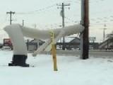 Hanna Montana In The Snow