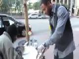 Homeless Thanks Giving