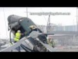 Helicopter Crashes - Original HD Footage Another Angle