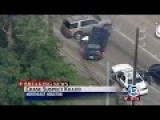 Houston Police Kill Turd Who Ran From Them And Then Crashed Out