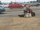 Homeless Woman Beaten By CHP Officer Gets $1.5 Million!!