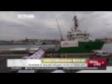 Hundreds Of Rescued Migrants Arrive At Italian Port Of Catania