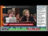 How Hillary Reacts When Congresswoman Reveals Stacks Of Email