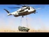 How To Move A 14-Ton Light Armored Vehicle: Helicopter External Lift