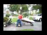 Homemade RC Lobster Fishing Boat