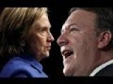 Hillary Clinton Snaps At Mike Pompeo Instantly Regrets It