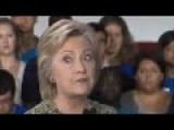 Hillary Clinton's Bizarre Eye Movement Before Canceling Event