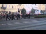 Hungarian Patriots Protest Islamic Invasion Of Europe
