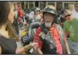Hot Reporter Clearly Not Welcomed At Biker Fest 2014 Port Dover, Canada