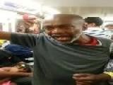 Homeless Train Passenger: Public Service Announcement