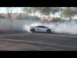 How To Destroy A Set Of Tires On A Lamborghini Gallardo