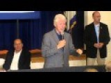 Hostile Protesters Laid Off Coal Miners Confront Bill Clinton In Coal Country, West Virginia…
