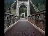 HISTORIC OLD CABLE STAY BRIDGES IN B.C. CANADA