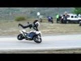 Honda F4i Highside Motorcycle Crash 1080p