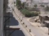 Heavy Atrillery Barrage In Jobar Syria