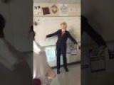 High School Teacher Dances To F*** Donald Trump During Class