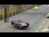 HUGE CRASH @ FIA GT World Cup, Macau - Laurens Vanthoor