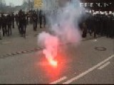 Hamburg - Police Stops Demonstration March