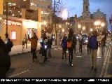 Homeless And Supporters March To Freedom Plaza From Mitch Snyder's Grave Site