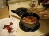 Hilarious Man Makes Deep Fried Mara-skeen-o Cherry Juice. Juice Courtesy Of Duct Tape Girl