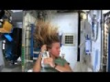 How Girls Wash Their Hair In Space