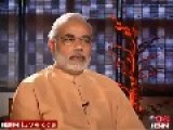 Indian PM Narendra Modi Ran Away From Live Interview On Gujrat Muslim Question
