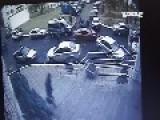 Intoxicated Men Crash In Front Of Belarus Police Station