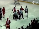 Ice Hockey Fight: China Vs South Korea