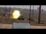 Iraqi Army Tank Round Pounds ISIS Hideout In Baiji Killing 6 Militants