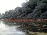 ISIS Sabotaged Oil Pipeline In Baghdad... Tigris River On Fire