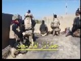 Iraqi E.R.U Engaging Arab Terrorists
