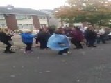 IRISH WATER PROTESTERS FOXHILL