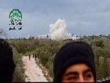 Islamic Front Blow-up In Deir Al-Zaghab Idlib Al Kasr Building Syria