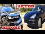 Incredibly Skilled Man Repairs A $90 000 Crashed Porsche Cayenne