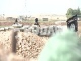 ISIS Militants Talking To Kurdish Reporter Over A Bridge From Meters Away