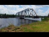 I Finally Caught The Blackwater Swing Bridge Opening Up!