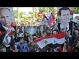 In Syria, The Rally In Support Of Russian Bombing