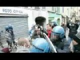 Italian Police Chief Starts The Violence