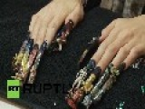 Italy: NAILED IT! Check Out World's BIGGEST Nail Art Event - The Nailympics