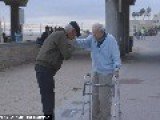 In An Incredibly Emotional Reunion, This Holocaust Survivor Knelt To KISS THE FEET Of The Soldier Who Liberated Him From The