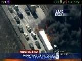 I15 Freeway Fire, Cajon Pass San Bernardino CA