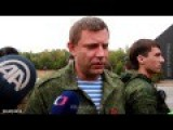 Interview With Aleksandr Zakharchenko English Subs